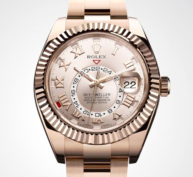 Rolex Skydweller Rose-Everose  2014